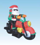 Inflatable Motorcycle Santa (YD-0039)