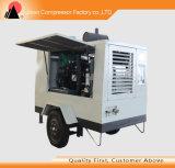 Refrigerar de ar portátil móvel Oli parafusa livre o tipo compressor de ar
