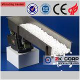 Alimentador vibratorio para la alimentación de mineral de cobre