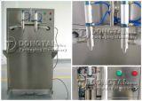 El aceite de cocina semiautomática Máquina de Llenado con boquillas dobles