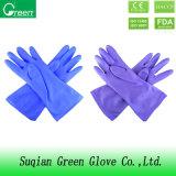De gekleurde Schoonmakende Handschoenen van het Huishouden van pvc