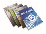 Impresión compensada del papel de arte de la aduana, compartimiento a todo color del catálogo