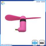携帯用人間の特徴をもつ電話極度の無言の小型USBのファン