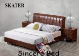 미국식 가죽 침대 B005
