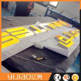 도로 표지를 광고하는 주문품 모양 또는 크기 또는 디자인 옥외 방수 LED 아크릴