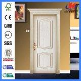 24 puertas Finished de la melamina de Prehung de la puerta de madera sólida de la pulgada