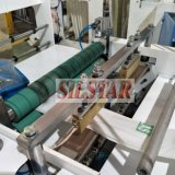 Líneas dobles automáticas completas que ruedan el bolso del sello de la estrella que hace la máquina