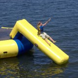 Игры воды озера Trampoline воды пляжа раздувные плавая раздувные игрушки парка воды