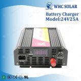 Автоматический поручая заряжатель батареи 24V 25A солнечный перезаряжаемые портативный