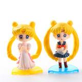 Fördernde dekorative Plastikabbildung Sailor Moon-Spielzeug für Kinder