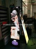 屋内P2.5デジタル表示装置の印超薄いフルカラーLEDポスタースクリーン