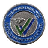 Distintivo su ordinazione del metallo di disegno 3 '' del distintivo duro in lega di zinco creativo dello smalto