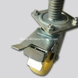 Baugerät-Strichleiter-Baugerüst-Fußrollen-Rad mit Bremse