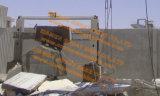 Granit-Marmorsteinblock, der Ausschnitt-Maschine quadriert