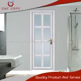 Porta de vidro do Casement do dobro de alumínio da porta do banheiro