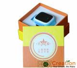 Reloj creativo que empaqueta/rectángulos de regalo de papel de lujo reciclados
