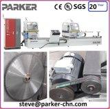 Machine van het Aluminium van Jinan de Dubbele Hoofd Scherpe