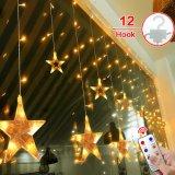 Шнур занавеса рождества освещает 8 светов режимов Linkable 138PCS СИД для партии празднества семьи венчаний Xmax рождества