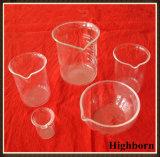 Cubilete de medición alto del vidrio de Borosilicate de la forma con la graduación