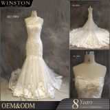Qualitäts-nach Maß Nixe-preiswertes Hochzeits-Kleid