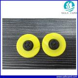 Tag animais amarelos da identificação da orelha da alta qualidade TPU 125kHz RFID