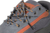 Вскользь ботинки безопасности с кожей замши и смешиванием Upper-FF-Sh-45 Mesn