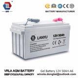 Super vordere Terminalbatterie leitungskabel-Säure AGM-12V 50ah