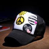 Painel 5 personalizados a tampa da pala-de Verão Boné de impressão de alta qualidade Caminhoneiro Chapéus