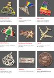 아랍 에미리트 연방 깃발 접어젖힌 옷깃 Pin 기장