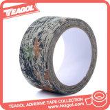 La cinta adhesiva al aire libre de la cautela, camufla la cinta impermeable del paño