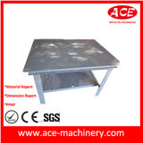 Серый пластиковый окраска металлических листов заводской регистрации