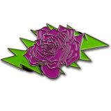 Fiori su ordinazione di Pin del risvolto del fiore del metallo/Pin del risvolto (XD-0707-16)