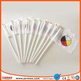 Banderas de la mano de vinilo de plástico promoción