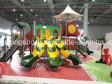 子供の演劇の公園によって使用される屋外の運動場装置