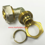 Guarnición de cobre amarillo material de cobre de la compresión para el gas