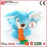아기 아이를 위한 최고 연약한 포옹 토끼 장난감 박제 동물 견면 벨벳 토끼