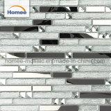 mozaïek van Backsplash van het Glas van de Strook van de Tegel van de Spiegel van het Mozaïek van 8mm het Decoratieve
