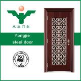 Seguridad de la puerta de acero de alta calidad para el hogar