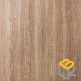 Papel decorativo da grão da madeira de carvalho para a mobília, assoalho de China