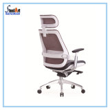 Design de luxo cadeira giratória de malha de escritório ergonómica