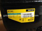 Compresseur neuf initial Sc18g 104G8820 de réfrigérateur de 1/2HP R134A Danfoss Secop