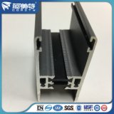 profil en aluminium d'enduit gris foncé de la poudre 6063t5 pour le guichet /Door