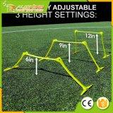 """Cañizos del entrenamiento de la velocidad de la venta al por mayor 12 """" - nuevos y diseño mejorado para el entrenamiento de la agilidad [fijar de 6] [los deportes netos del mundo]"""
