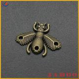 Het douane Gegraveerde Etiket van de Markering van het Metaal van het Embleem voor Handtassen