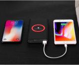 Commerce de gros Qi Banque d'alimentation chargeur recharge sans fil 10000mAh