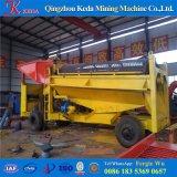 Matériel alluvial de panoramique d'extraction de l'or de placer de la Chine