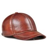 Gorra de béisbol de los paneles del color 6 de la PU de la aduana varia