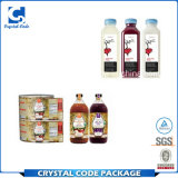 Étiquettes populaires recyclables de collants de bouteille de jus