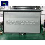 Las pantallas de XY 1.0 blanca mate ganar pantalla proyector motorizada con control Romote