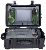 Receptor video de la maleta portable llena audio a dos caras de HD, Yagi elogioso y antena versátil